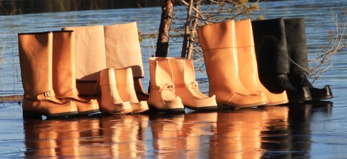 Lappish boot selection